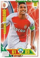 191 RADAMEL FALCAO COLOMBIA AS.MONACO CARTE CARD ADRENALYN LIGUE 1 2018 PANINI