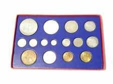 More details for 1937 george vi proof specimen coins 9 of 15 in official cardboard box read all !