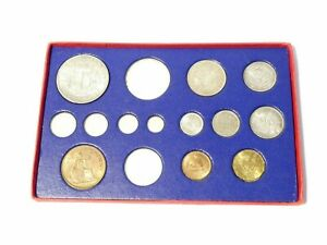 1937 George VI Proof Specimen Coins 9 of 15 In Official Cardboard Box READ ALL !