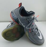 Nike Lebron James Earned 23 Mens Size 11.5 724557-014 Low Top Sneakers Gray