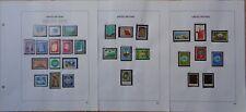 ONU, Nations Unies, Genève, collection de timbres sur feuilles d'album Davo