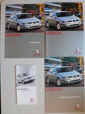 Prospekt Seat Toledo, 2.2001, 32 Seiten + Daten+Farben/Polster+Gesamtpreisliste