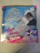 1996 African American Angel Princess Barbie Doll - Damaged Box