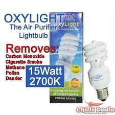 Ionmax Oxylight 15W 2700K E27 Edison negative ions/Ionic Energy saver light bulb