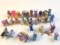 MLP My Little Pony Mixed Mini Figures Huge Lot Of 29 Mix 2010 Hasbro Rare Gems