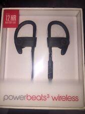 Beats by Dr. Dre Powerbeats3 Wireless Ear-Hook Wireless Headphones - Black (NEW)