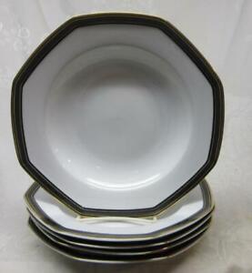 Bunzlauer Ceramic Soup Plates 24cm Decor 54A