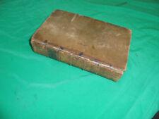 Livres anciens et de collection anglais en cuir XVIIIème