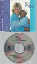 CD--BLUE SYSTEM UND DIONNE WARWICK--IT'S ALL OVER [MAXI-CD]