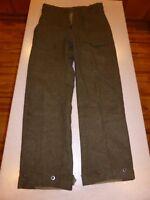 Vintage K.L. Dutch Army Wool Pants 32x30 sz 46