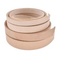 Blank Veg Tanned Leather Strip Strap Belt Handmade 100-130cm Pick Width 1Pc
