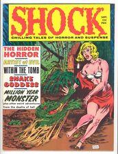 SHOCK Vol.1 #3  Stanley 1969- Reprints 1950's Horror - VF+