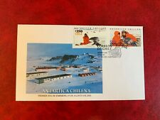 CHILE ANTARCTIC 2001 FDC RESEARCH SEALS