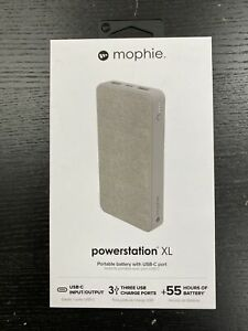 NEW mophie 15000 mAh Dual USB-C Portable Battery Power Bank for iPhone/Samsung