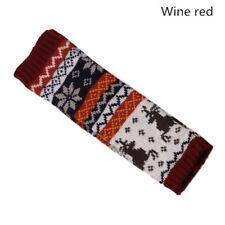 Fingerless Knitted Long Gloves Mittens Wrist Gloves For Women Warm Hand Gloves