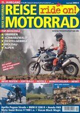 RM0504 + Test BMW R 1200 ST + Vorstellung BMW HP2 + REISE MOTORRAD 4 2005