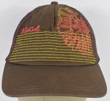 Brown Rip Curl Surf Wear Co Logo Trucker Hat Cap Adjustable Snapback 24433b5204fc