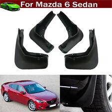 4x Car Mud Flap Splash Guard Fender Mudguard Mudflap For Mazda 6 Sedan 2013-2018