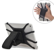 Detachable Padded Hand Strap Holder with Silicon Tablet Holding Net for Tablets