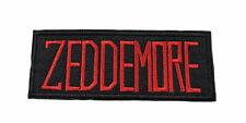 Ghostbusters Zeddemore Name Tag Patch Team Uniform Costume Movie IronOn Applique