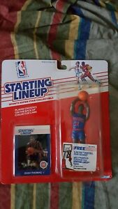 NBA 1988 STARTING LINEUP ISIAH THOMAS DETROIT PISTONS KENNER