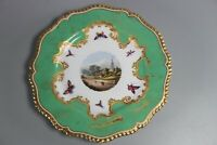 Antique Flight Barr and Barr Worcester Hand Painted Salisbury Plate C.1810