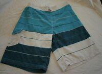 Billabong Men's Board Surf Swim Shorts - Size XXL Blue/White