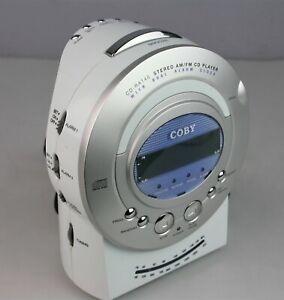 Coby CDRA140 Digital AM/FM Alarm Clock Radio with CD Player