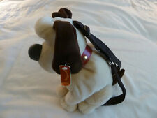 "EUC 1989 Wallace & Gromit 17"" Plush Dog Backpack from British Claymation Movies"