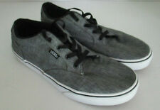 Vans 721356 Mens Youth Dark Grey Atwood Street Off Wall Lace Low Sneakers Sz 7