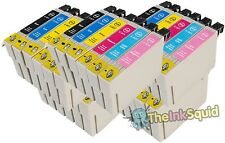30 T0801-6/T0807 non-oem Hummingbird Ink Cartridges fits Epson Stylus RX585