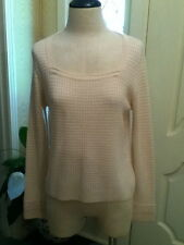 St John Sport Small Ivories, Square neck Sweater  S NWT