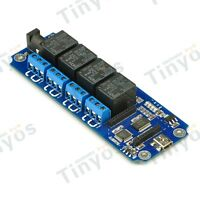4 Channel USB/Wireless Relay Module -TOSR04(Xbee, Bluetooth and WIFI Extension)