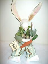 "Gallerie II ""Dash"" Rabbit - Gathered Traditions Soft Sculpture by Joe Spencer"