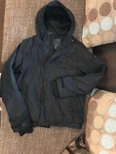 Firetrap Mens Black Coat Jacket Medium
