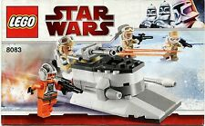 LEGO Star Wars 8083 Rebel Trooper Battle Pack  Instruction Manual : Booklet Only