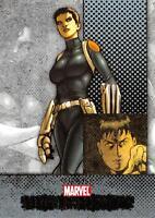 QUAKE / Marvel Beginnings Series 1 BASE Trading Card #73