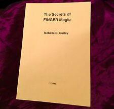 SECRETS OF FINGER MAGICK Finbarr Grimoire Magic Spells Occult Witchcraft Wicca