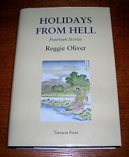 REGGIE OLIVER HOLIDAYS FROM HELL TARTARUS PRESS HC SIGNED #62/500