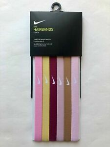Nike Hairbands  Genuine Assorted 6 Pack One Size