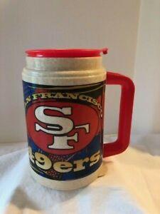 Mug Vintage NFL  San Francisco 49ers Plastic Whirley Travel Mug Super Bowl