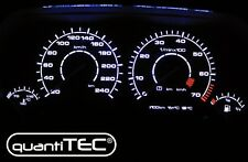 PLASMA TACHO TACHOSCHEIBEN SET VW GOLF 3 16V GTI VENTO 20-240 km/h SCHWARZ-WEISS