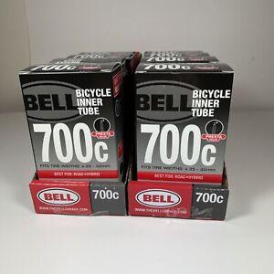 BELL 700 C bicycle inner tube presta valve Route Hybride lot de 2
