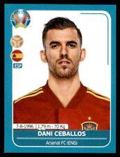 Panini UEFA Euro 2020 Preview - Dani Ceballos Spain No. ESP22