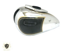 ARIEL 500CC RED HUNTER GAS FUEL PETROL TANK CHROMED AND PAINTED BLACK Fit For