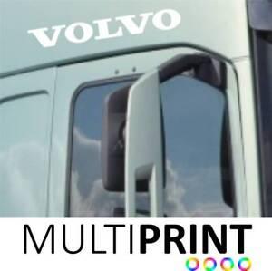 2 x Volvo Door Lorry Truck Vinyl Sticker Decal Cab Trucker HGV FREE P&P LOR18