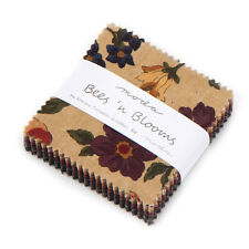 "Mini Charm Pack~Bees N Blooms~Kansas Troubles~Moda Fabric~42-2.5""Squares~949 0Mc"