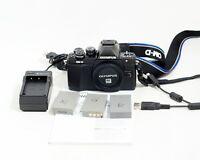Olympus OM-D E-M10 Mark II Mirrorless 16.1MP Digital Camera Body ONLY 1K SHUTTER