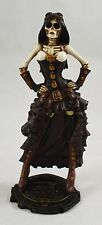 Superb Large Steampunk Day of the Dead Skeleton Statue/Figurine Gothic/Death NEW