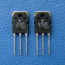2SJ200 & 2SK1529 Original TOSHIBA FET J200 K1529.